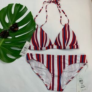 NWT B. Swim Bikini Top + Bottom America 4th July